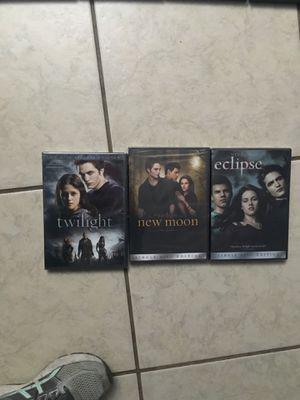 Twilight saga dvd set for Sale in Fort Lauderdale, FL