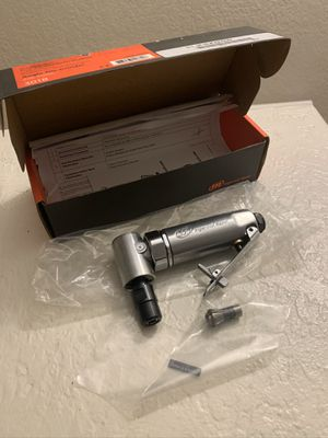 Ingersoll Rand Air Right Angle Die Grinder 21,000 RPM .25 HP 301B for Sale in Hialeah, FL