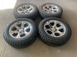 """2018""""DODGE-RAM 1500 stock rims tires KO2 for Sale in El Paso, TX"""