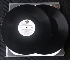 2Pac - I Wonder if Heaven got A Ghetto - 12 inch vinyl Double's Records for Sale in Corona, CA