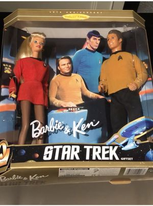 30th anniversary Barbie and ken Star Trek gift set for Sale in Palo Alto, CA