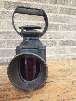 Antique British Railroad Lantern for Sale in Pittsburgh, PA
