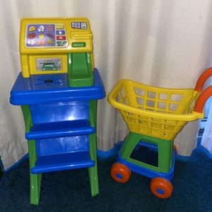 Pretend Play- Grocery Cart & Scanner for Sale in Bowie, MD