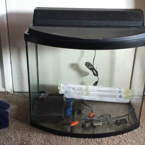 Front Curve Fish Aquarium for Sale in Portland, OR