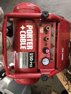 Porter cable compressor for Sale in Sanford, FL