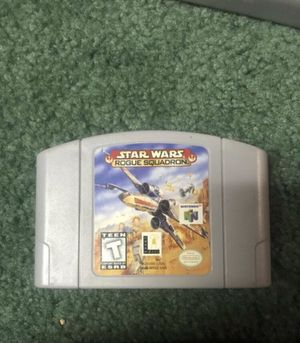 Nintendo 64 Star Wars Rogue Squadron N64 vintage game for Sale in Seattle, WA