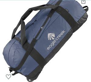 Rolling Duffle Bag - blue for Sale in Orangevale, CA