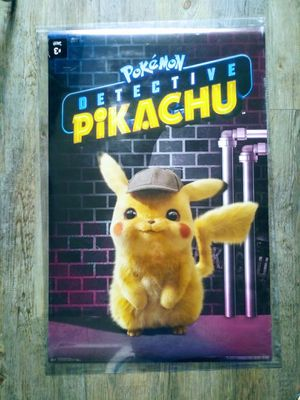 Pokemon detective pikachu poster for Sale in Santa Fe Springs, CA
