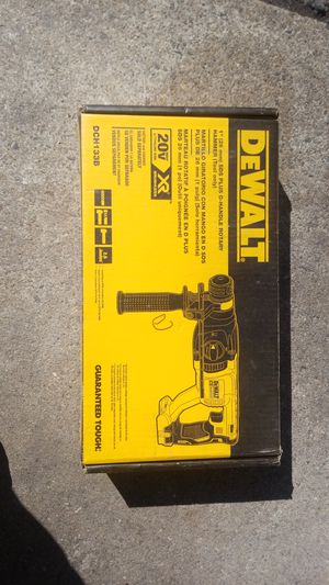 Dewalt sds hammer drill 20v for Sale in Medfield, MA