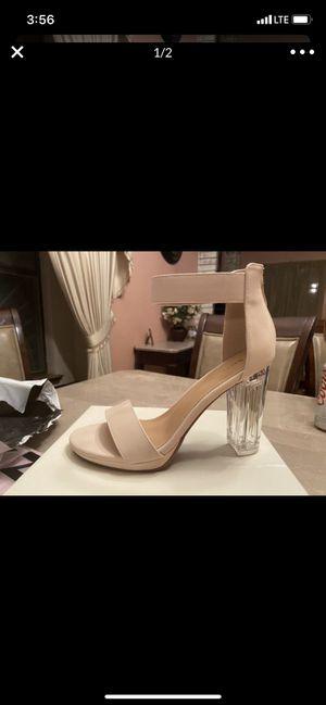 Brand new beige high heels 5.5 for Sale in El Paso, TX