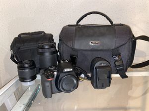 Nikon D3400 dslr camera for Sale in San Antonio, TX