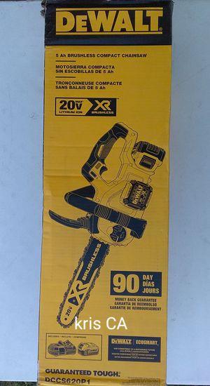 Dewalt compact chainsaw kit 20v for Sale in La Puente, CA
