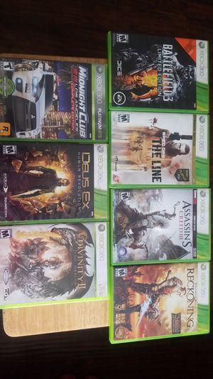 Xbox 360 video games. (OBO) for Sale in Bellflower, CA