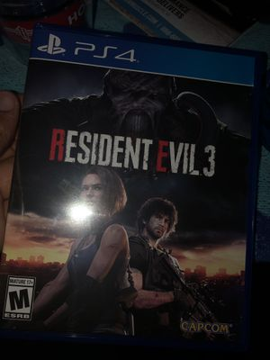 Resident Evil 3 PS4 Game for Sale in Fort Worth, TX