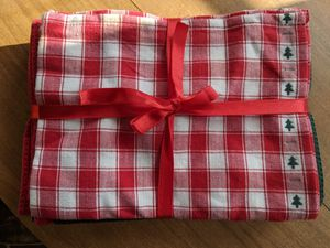 4 brand new Christmas kitchen towels for Sale in South Attleboro, MA