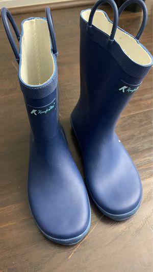 Youth rain boots size 4 for Sale in Silverado, CA