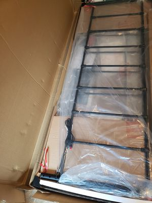 Metal Bed Frame with Reading Lights - King Size for Sale in Mebane, NC