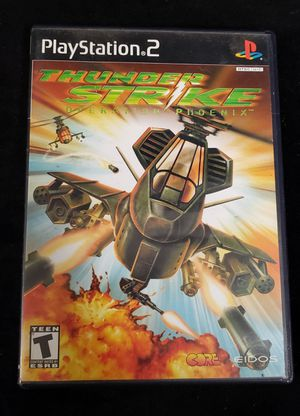 PS2 Thunderstrike Operation Phoenix for Sale in Buena Park, CA