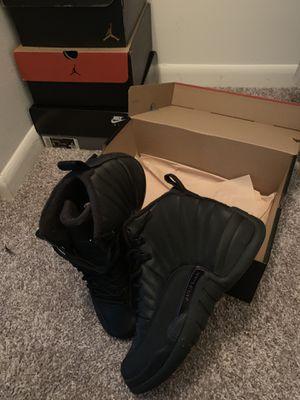 Black Jordan 12 size 8 for Sale in Pompano Beach, FL