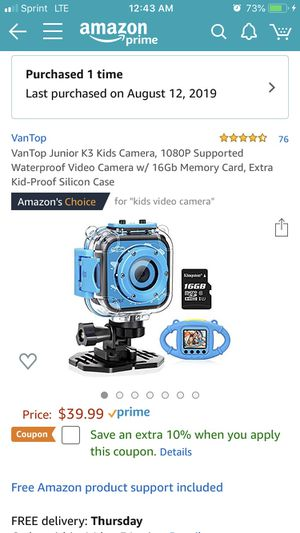 Kids Adventure Camera $25 BRAND NEW Never Used for Sale in Staten Island, NY
