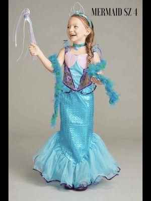 New chasing fireflies Mermaid Costume Girls SZ 4 for Sale in Arlington, VA