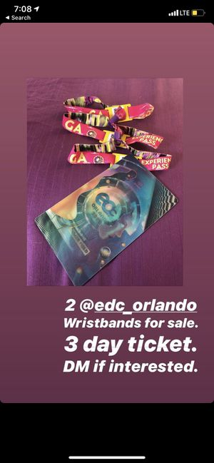 orlando EDC tickets for Sale in Vero Beach, FL