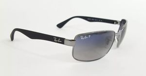 Ray ban 3478 004/78 blue gradient lenses polarized for Sale in Medley, FL