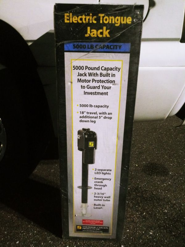 Brand new electric tongue jack,