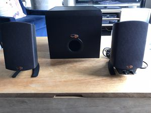 Klipsch ProMedia 2.1 THX Speakers for Sale in Seattle, WA