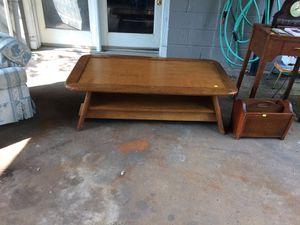 Coffee table, antique chifferobe, antique Hoosier cabinet for Sale in Nashville, TN