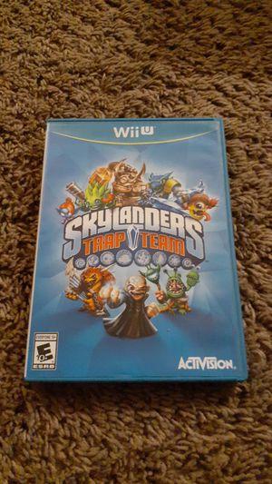 Skylanders Trap Team for Nintendo Wii U for Sale in Allentown, PA