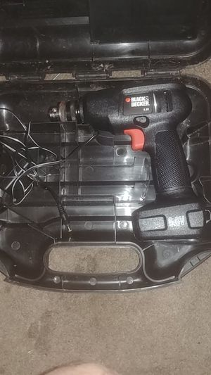 Drill charger and case for Sale in Savannah, GA