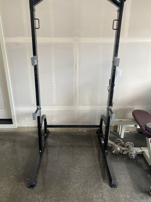 Gym equipment squat rack for Sale in Vancouver, WA