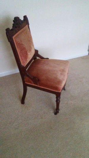 Antique Eastlake slipper chair for Sale in Boca Raton, FL