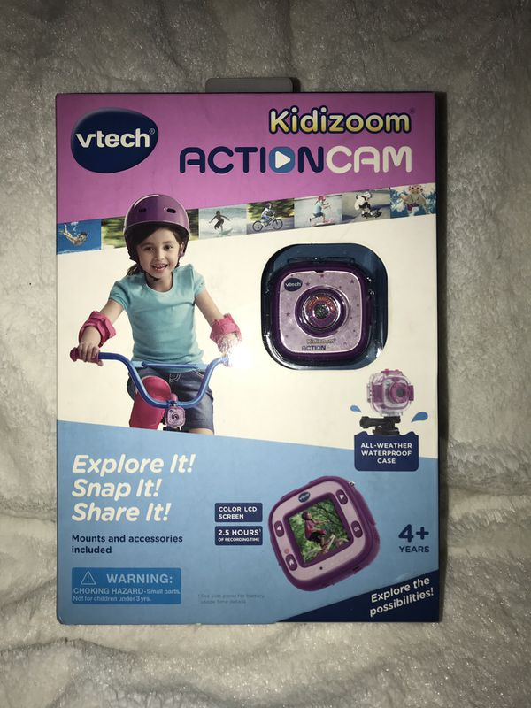 Vtech kidizoom action cam NEW