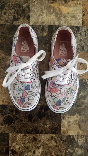 Girls Vans Size 1.5 for Sale in NEW PRT RCHY, FL
