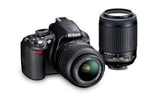 Nikon D3100 13290 14.2MP Digital SLR Camera with 3x Optical Zoom (Black) for Sale in Brandon, FL