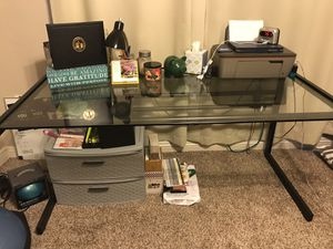 Glass Desk for Sale in San Diego, CA