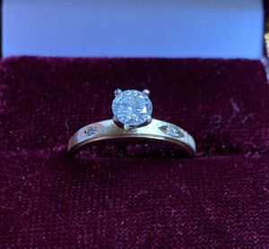 Diamond engagement ring plus wedding band for Sale in Murrysville, PA