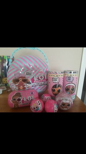 LOL surprise doll lot for Sale in Tampa, FL