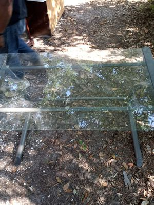 Glass computer table for Sale in Lake Charles, LA