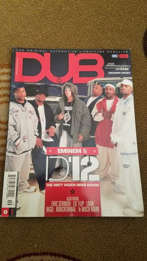 DUB Magazine issue 19 from 2004 for Sale in Victorville, CA