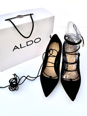 ALDO Kenneson-98 Lace Up Suede Stiletto Pumps for Sale in Seminole, FL