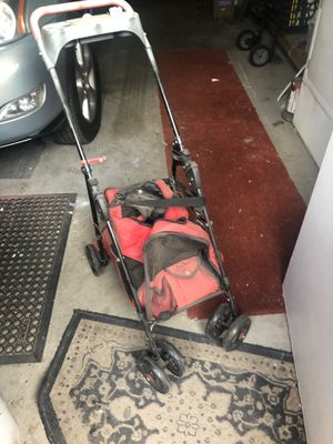 Dog stroller and carrier plus extra gray carrier for small dog for Sale in Scottsdale, AZ