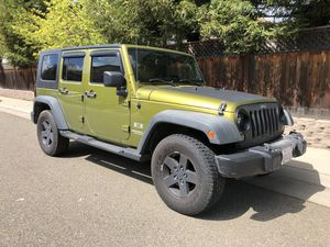 2008 Jeep JKU 4WD 6 spd manual for Sale in Elk Grove, CA
