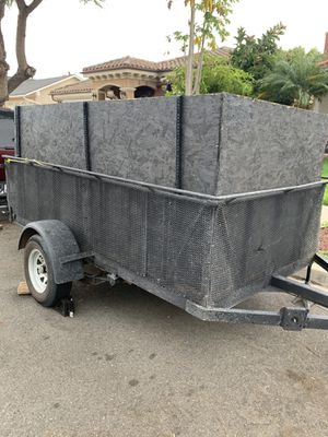 Utility trailer 10ftL4.5ftW5ftH for Sale in Irvine, CA