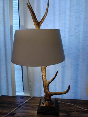 Barbara Cosgrove Gold Elk Horn Lamp for Sale in Dallas, TX