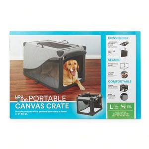 FREE Portable Canvas Crate for Large Dog for Sale in West Springfield, VA