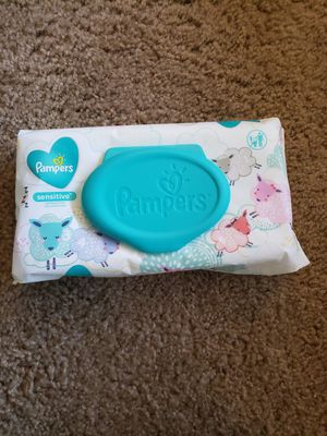 Pampers Baby Wipes (NEW) for Sale in Tacoma, WA