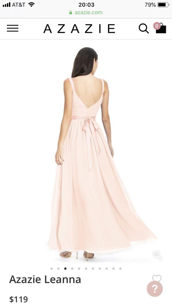 Azazie long formal bridesmaids gown